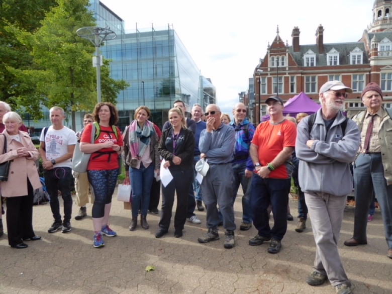 Walking in Croydon - why not get involved with your local walks?